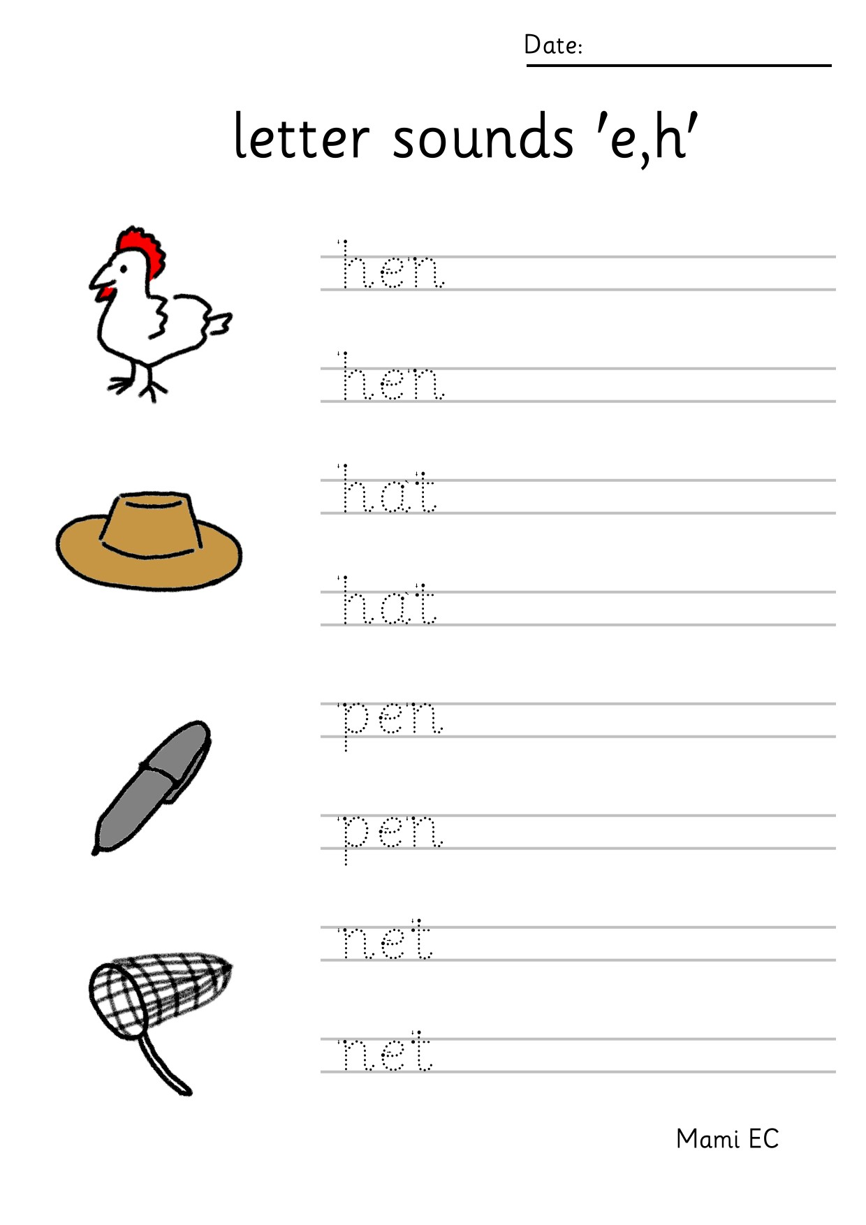 Jolly Phonics Worksheets Jolly Phonics ch Colou